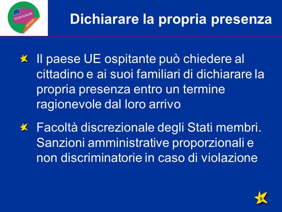 Conservazione del diritto di soggiorno Cosa succede ai familiari se il cittadino UE perde il diritto di soggiorno.