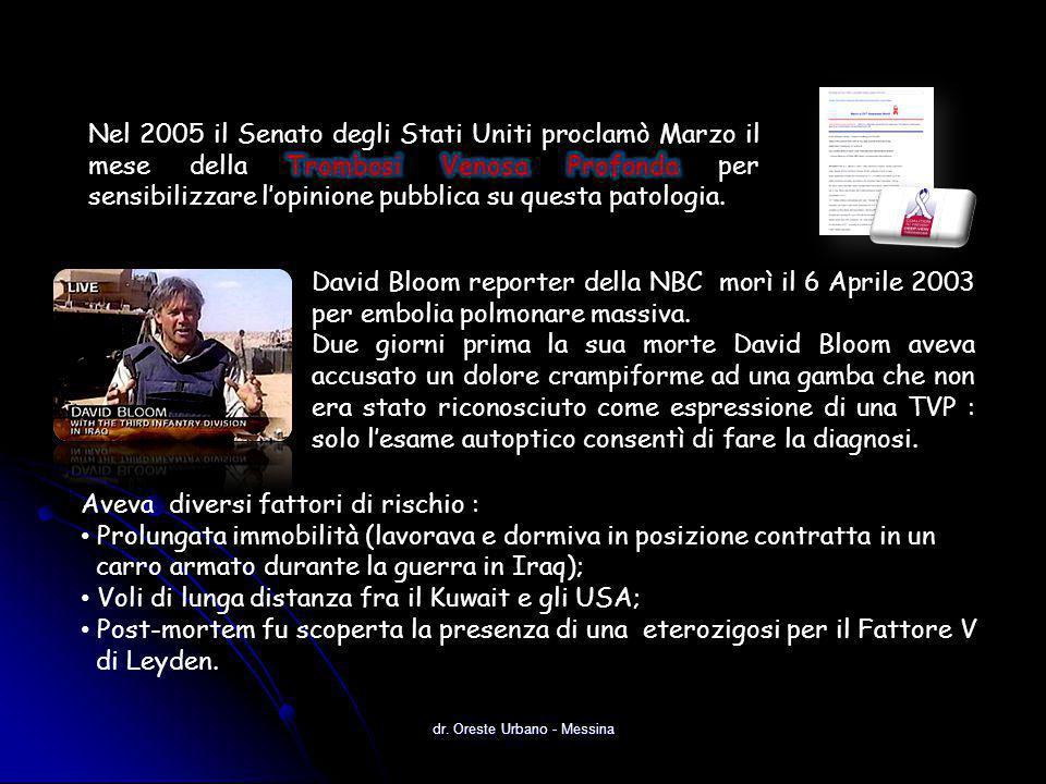 dr.Oreste Urbano - Messina Anderson et al.