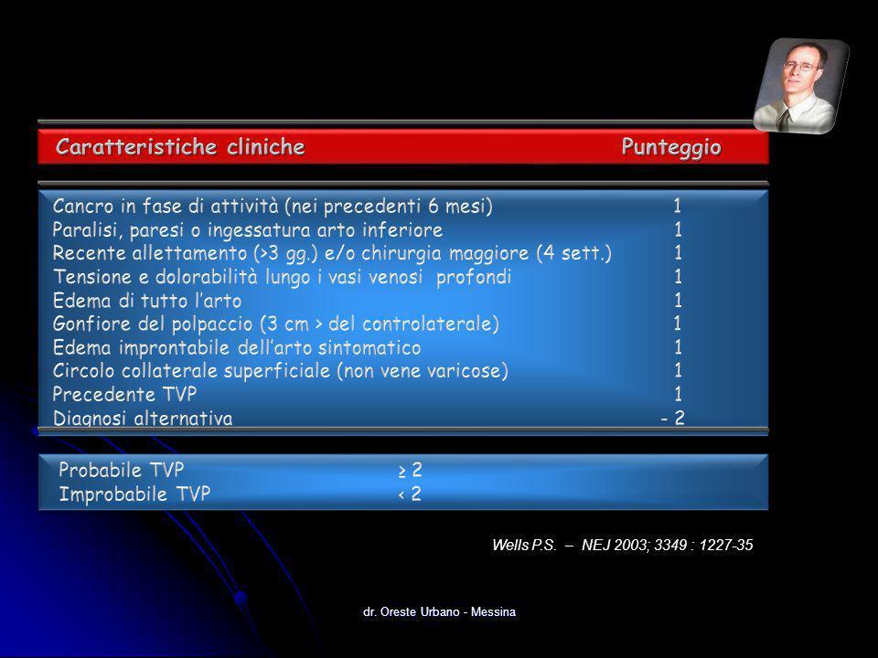 dr. Oreste Urbano - Messina Wells P.S. – NEJ 2003; 3349 : 1227-35
