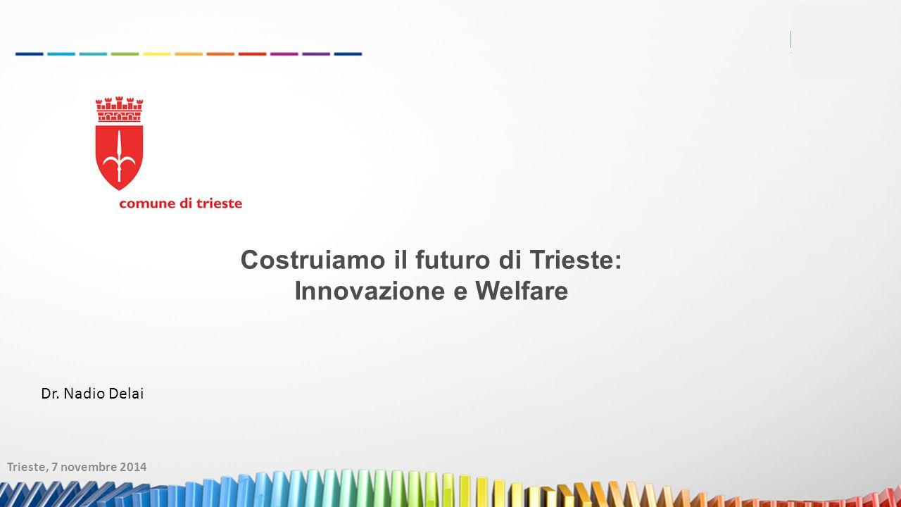 Trieste, 7 novembre 2014 Dr. Nadio Delai Costruiamo il futuro di Trieste: Innovazione e Welfare