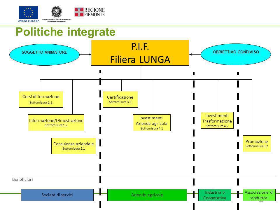 10 Politiche integrate P.I.F.