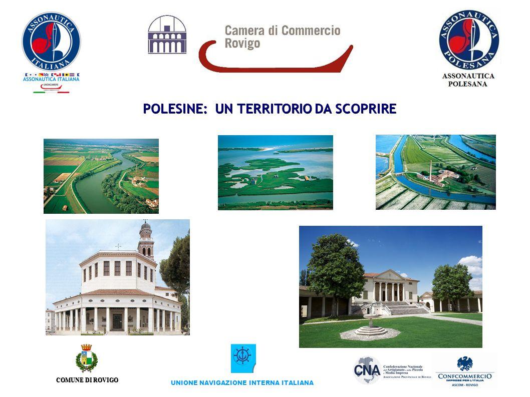 COMUNE DI ROVIGO UNIONE NAVIGAZIONE INTERNA ITALIANA POLESINE: UN TERRITORIO DA SCOPRIRE