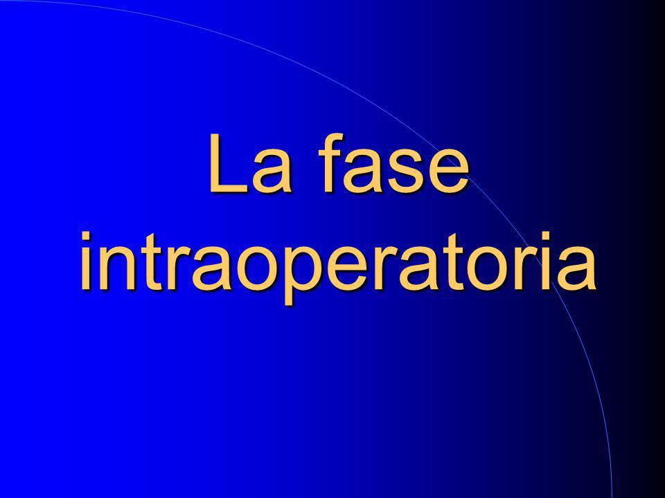 La fase intraoperatoria
