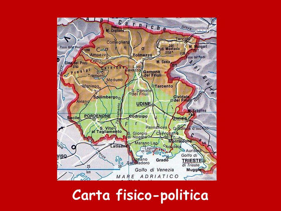 austri a Il Friuli Venezia Giulia confina a nord con l'Austria, a sud con il Mar Adriatico, a est con la Slovenia e a ovest con il Veneto.