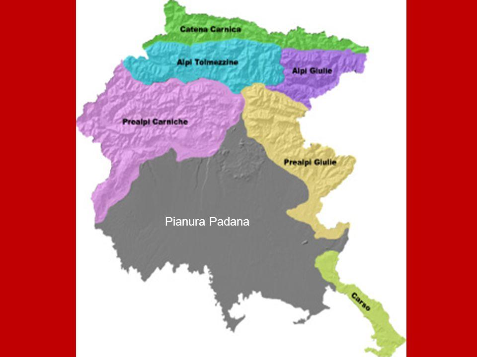 I fiumi Nel Friuli ci sono tanti fiumi, ma quelli più importanti sono 3: Il Tagliamento – in provincia Udine L'Isonzo – in provincia Gorizia Il Livenza – in provincia Udine Posizione del Tagliamento e dell'Isonzo Posizione Livenza