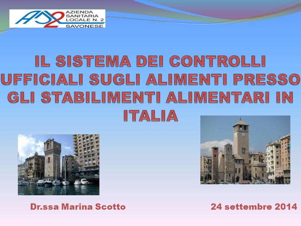 Dr.ssa Marina Scotto 24 settembre 2014