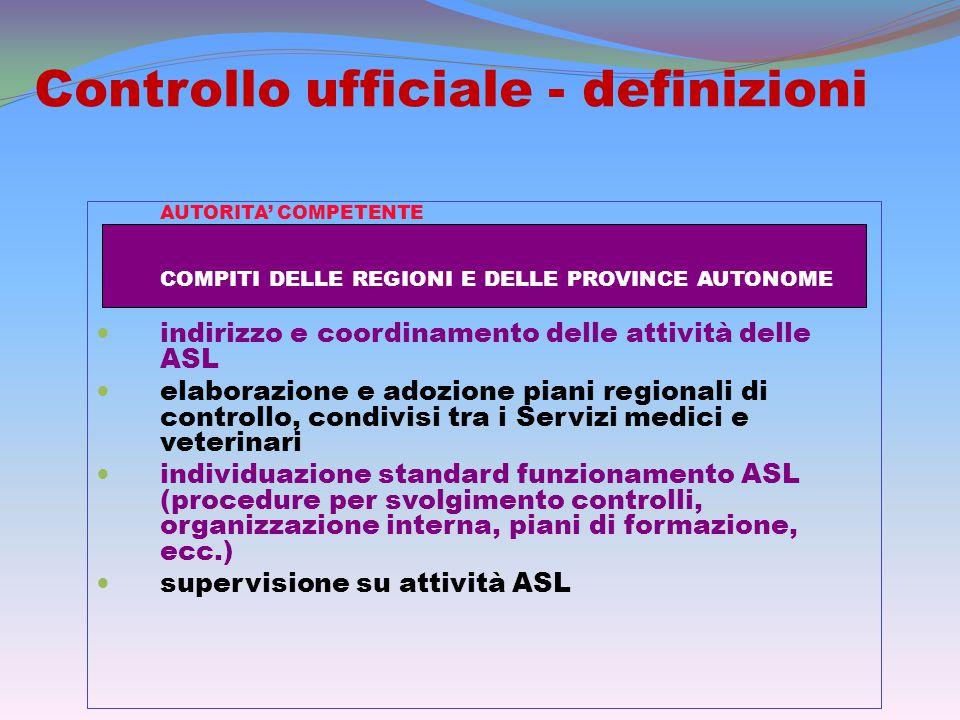 Controllo ufficiale OGNI NON CONFORMITÀ RISCONTRATA (STRUTTURALE, GESTIONALE, DOCUMENTALE, ECC.), DEVE ESSERE a.