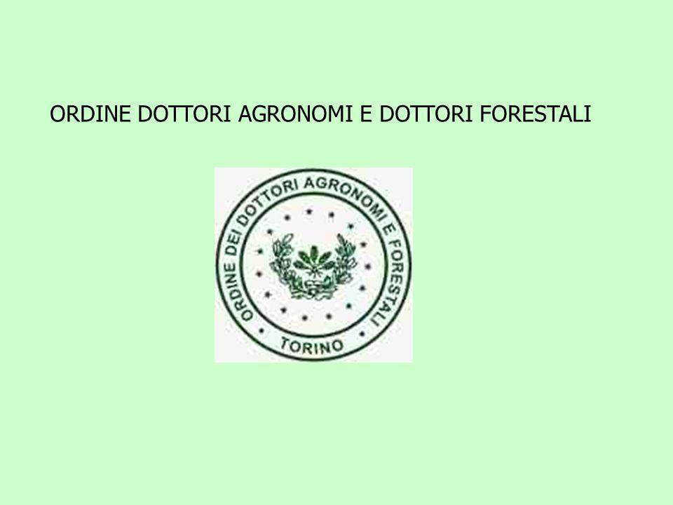 ORDINE DOTTORI AGRONOMI E DOTTORI FORESTALI