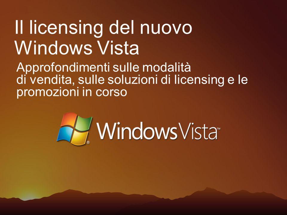 La famiglia di prodotti Windows Vista BusinessCunsumer