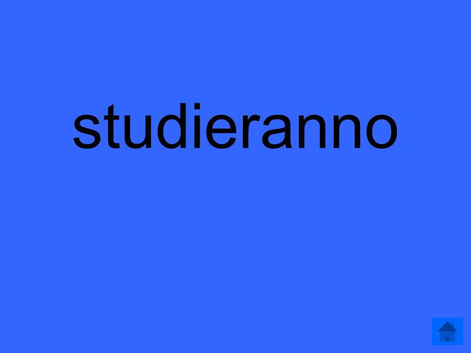 Futuro 200 Gli studenti (studiare) per l'esame finale.