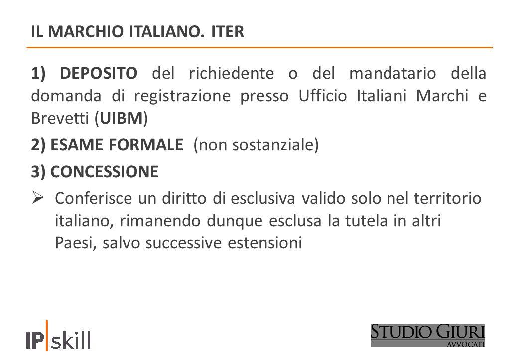 IL MARCHIO ITALIANO.