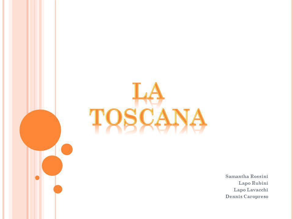 La Toscana è una regione italiana.