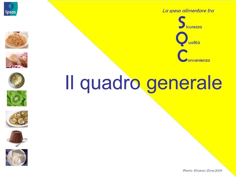 Premio Vincenzo Dona 2009 20 Cosa guardano gli italiani sulle etichette dei prodotti alimentari.