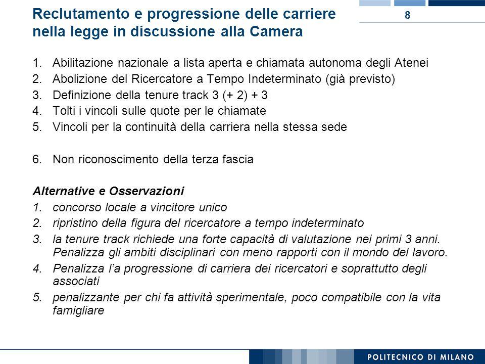 9 Impatti della manovra finanziaria 2010 1.Per tutte le Amministrazioni pubbliche 1.