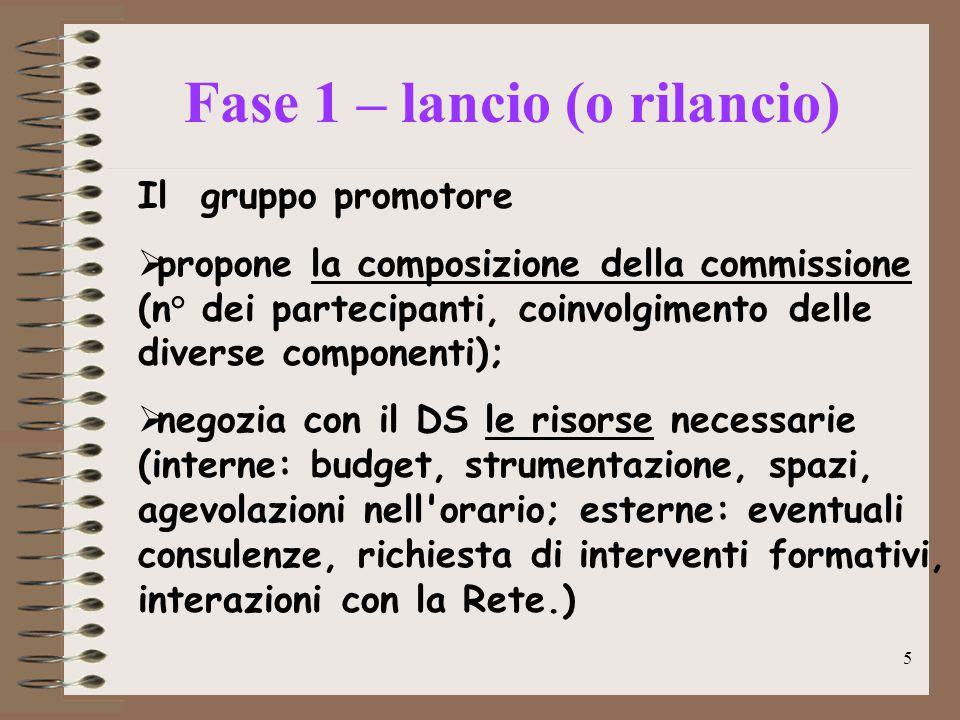 5 Caratteristiche hardware minime Il gruppo promotore  propone la composizione della commissione (n° dei partecipanti, coinvolgimento delle diverse c