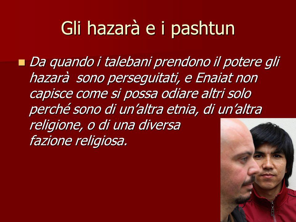 6 Italia Il funzionario non fa altro se non ripetere quello che molti pensano, cioè che Enaiat potrebbe tornarsene nel suo paese.