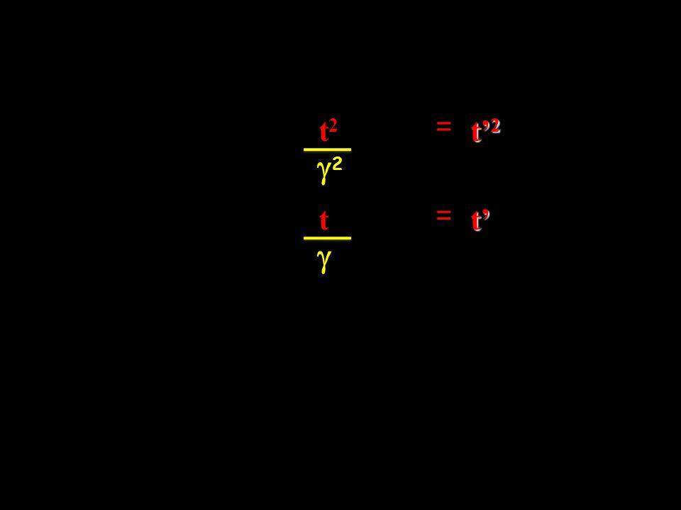 t2t2t2t2 = t' 2 22 t =t' 