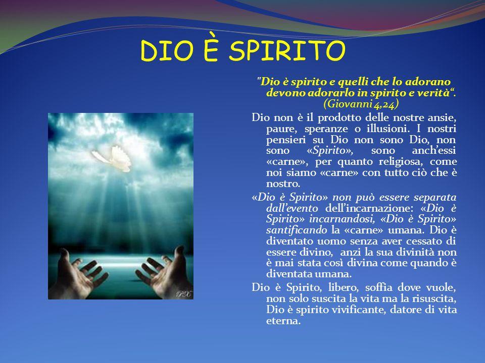 DIO È SPIRITO
