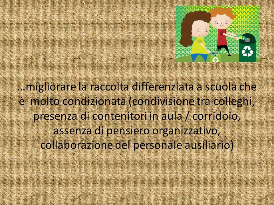 una mini-formazione delle insegnanti coinvolte per entrare nel dettaglio di che cosa differenziare .