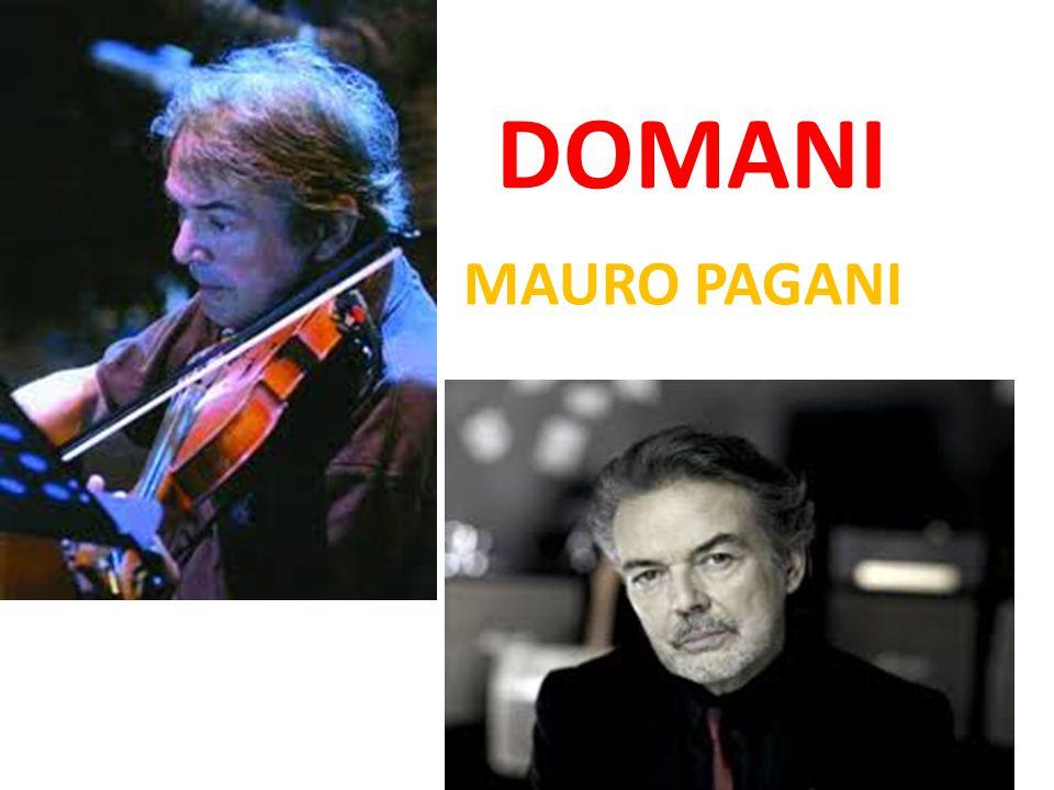 DOMANI MAURO PAGANI
