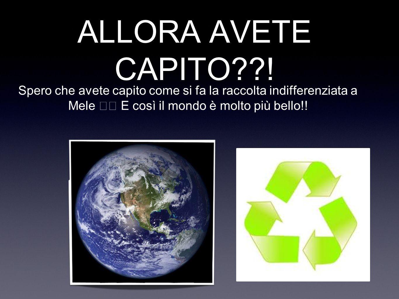 ALLORA AVETE CAPITO??.