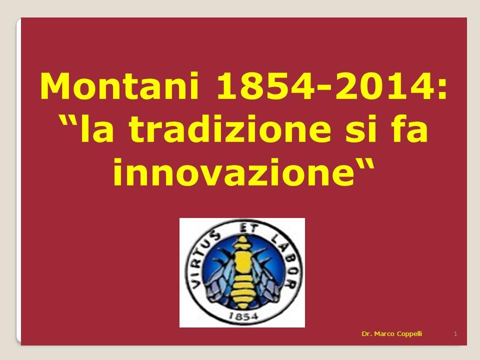 Montani 1854-2014: la tradizione si fa innovazione Dr. Marco Coppelli 1