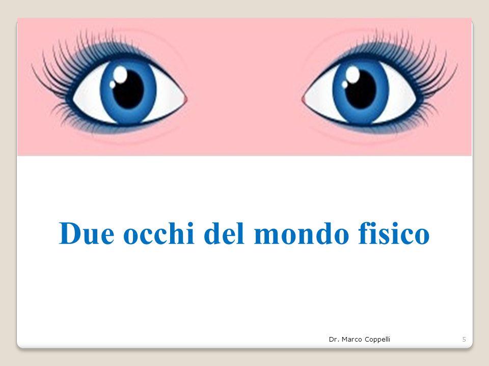 Due occhi del mondo fisico Dr. Marco Coppelli5