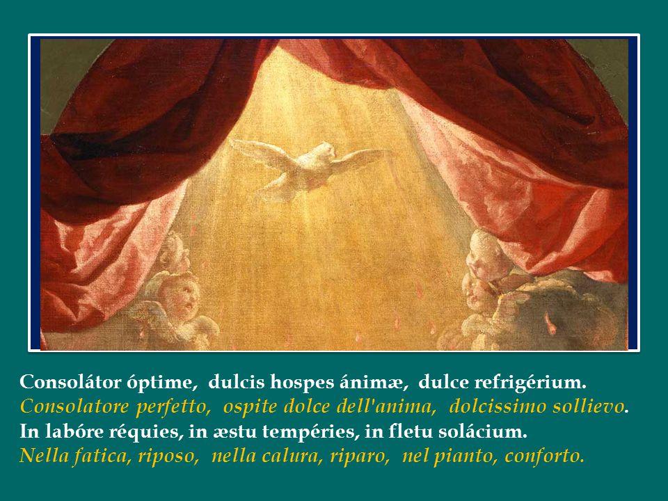 Questa promessa si realizza con potenza nel giorno di Pentecoste, quando lo Spirito Santo discende sui discepoli riuniti nel Cenacolo.