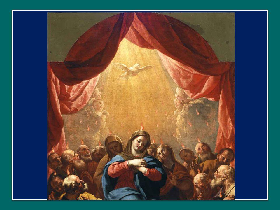 E quel giorno, con gli Apostoli, c'era la Donna della memoria, quella che dall'inizio meditava tutte quelle cose nel suo cuore.