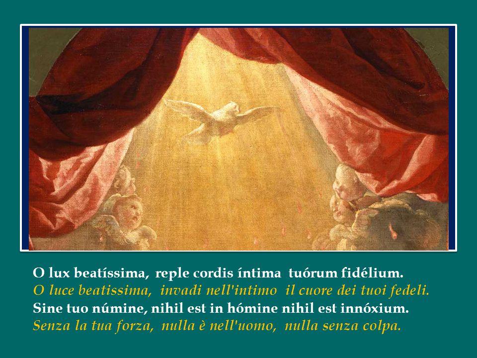 Lo Spirito Santo ci insegna: è il Maestro interiore.