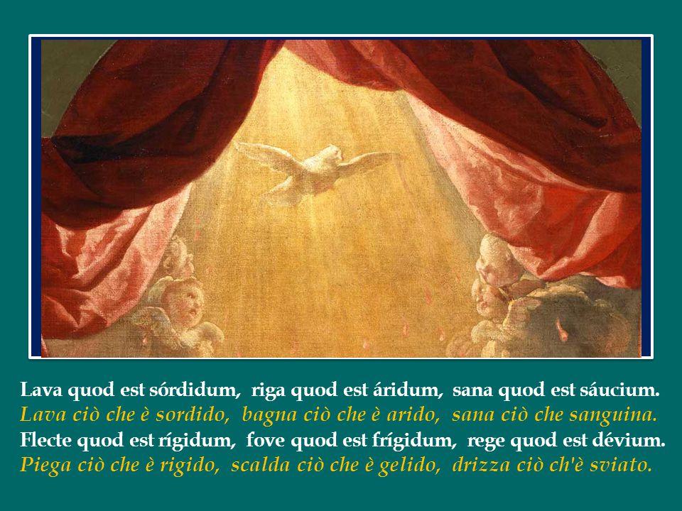 Lo Spirito Santo ci ricorda, ci ricorda tutto quello che Gesù ha detto.