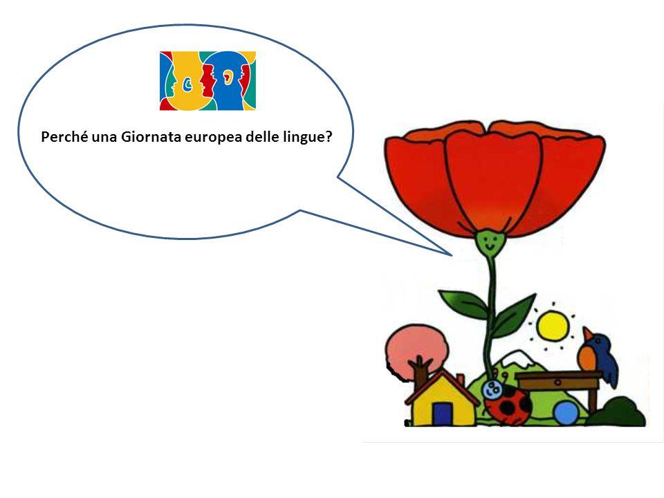 Perché una Giornata europea delle lingue?