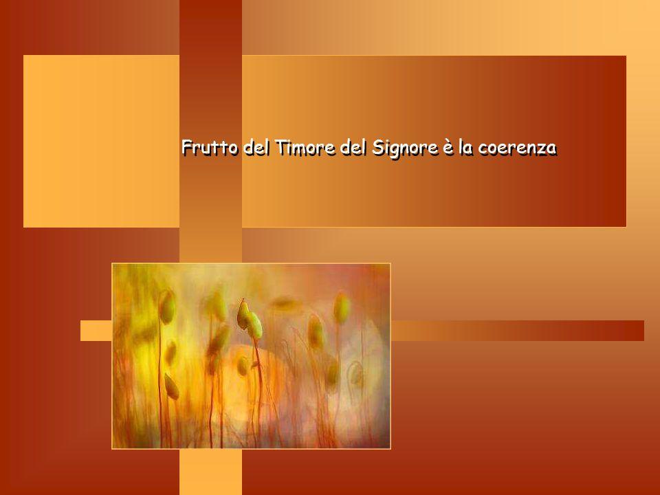 Timore di Dio Timore di Dio: Non è paura, ma il riconoscere la santità e la trascendenza, la maestà di Dio. E' il santo che cantiamo ogni giorno a Mes