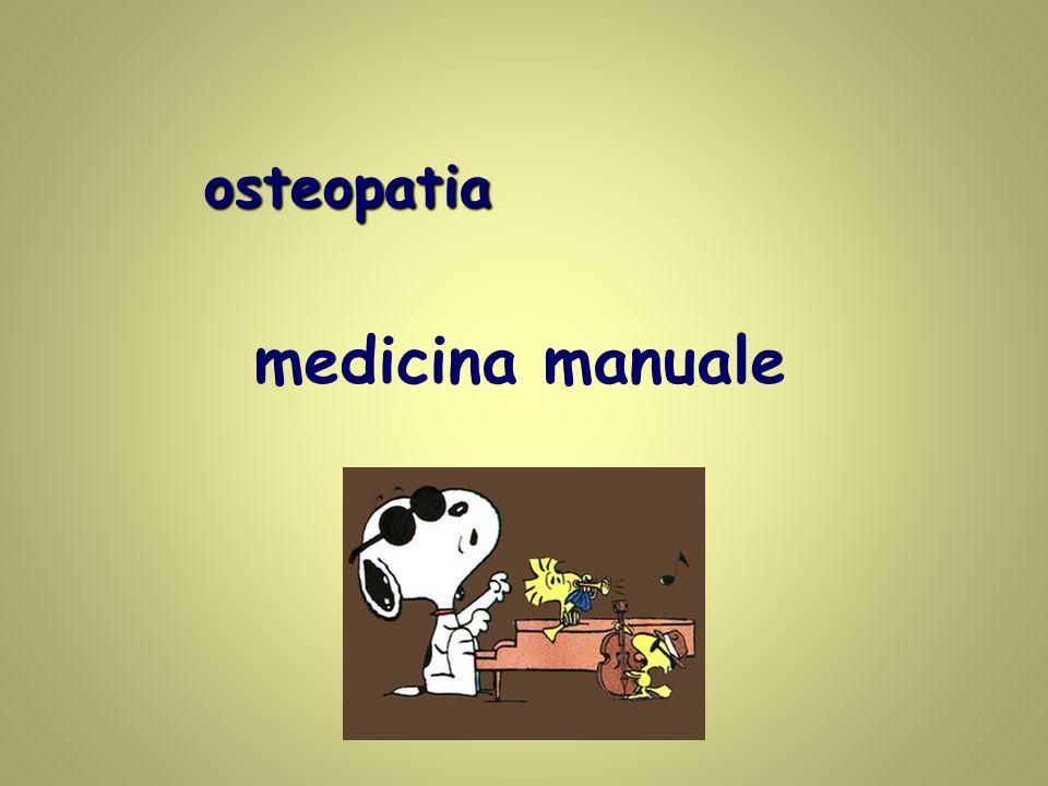 medicina manuale osteopatia