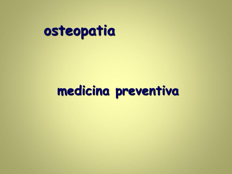 osteopatia medicina preventiva