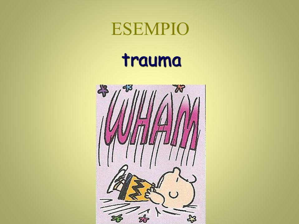 trauma ESEMPIO