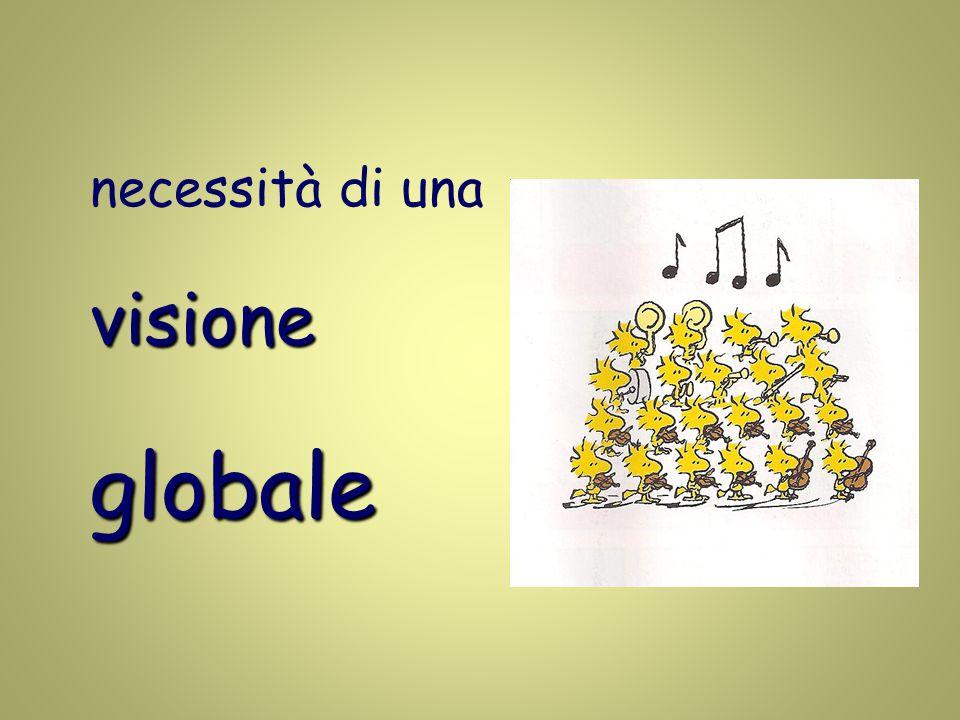 necessità di unavisioneglobale