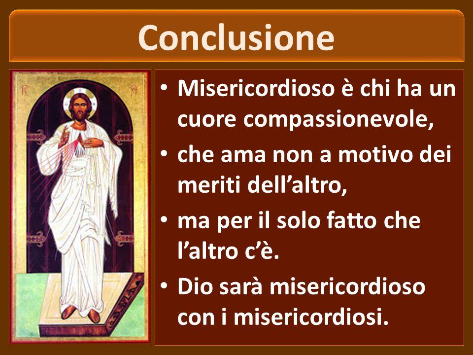 Le opere di misericordia C.C.C.