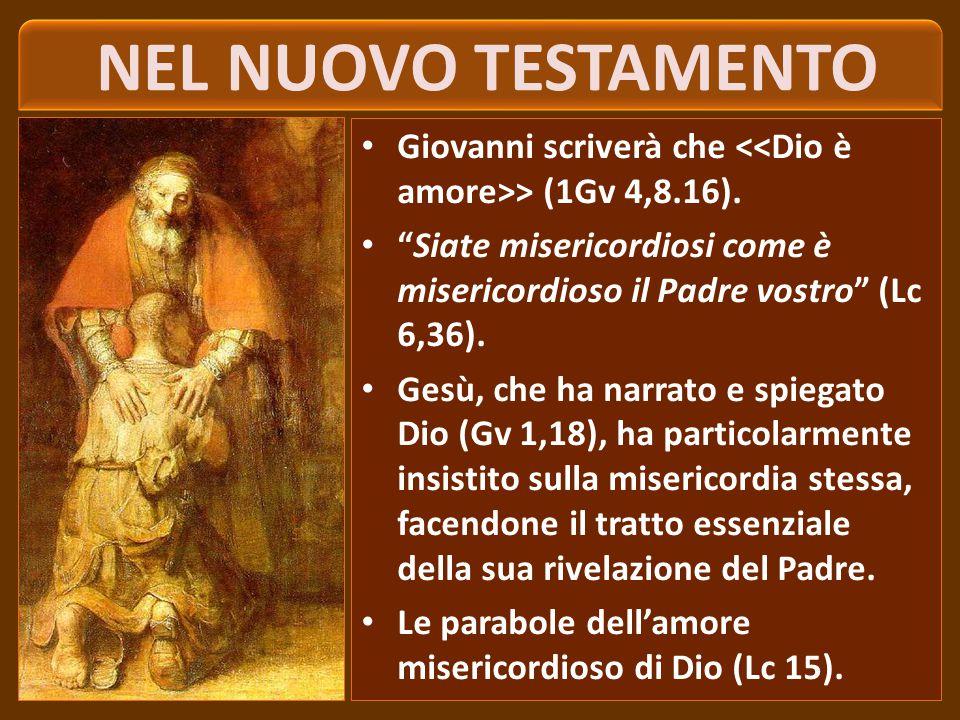 NEI PROFETI E NEI SALMI > (Os 6,6).Dio ha misericordia verso chi ha peccato (cf Sal 51,3; 130,3).