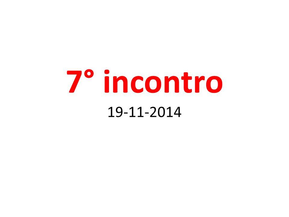 7° incontro 19-11-2014