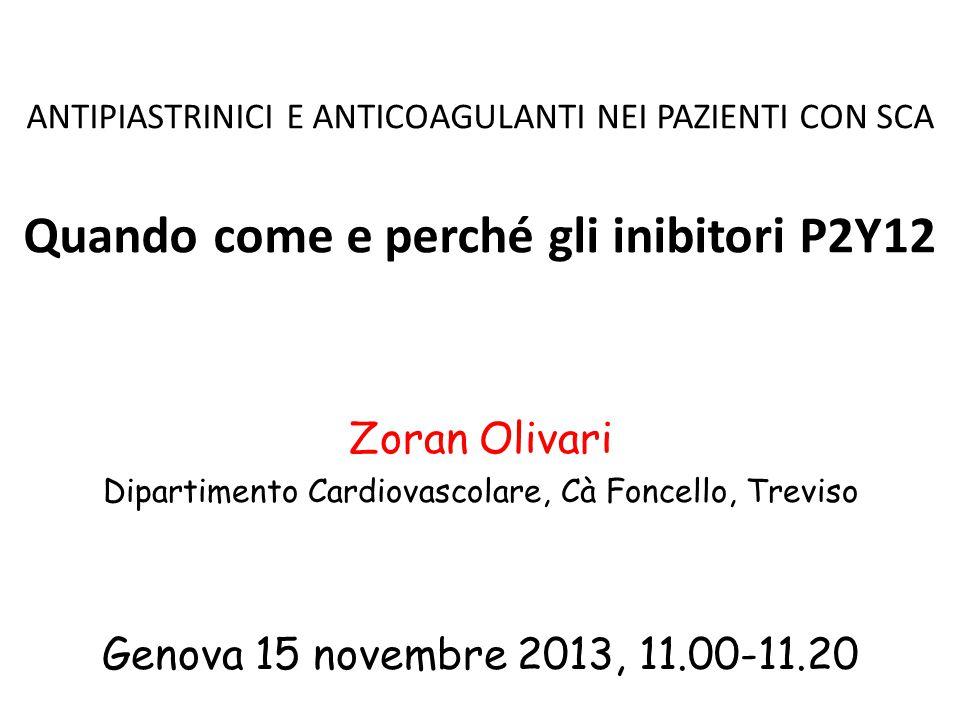Sanguinamenti TIMI major (non CABG related) TRITON TIMI 38 PLATO (15 mesi) (12 mesi) p = 0,03 p = 0.03