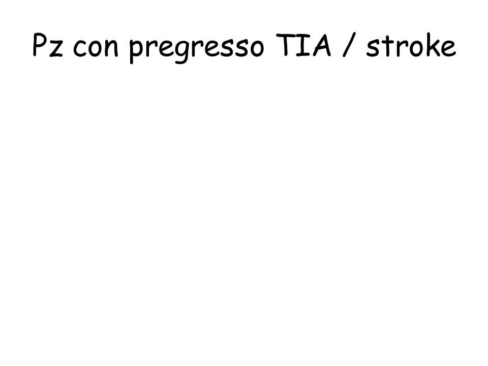 Pz con pregresso TIA / stroke