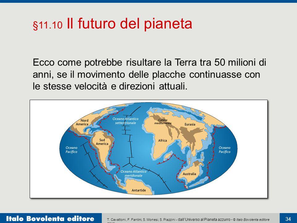 T. Cavattoni, F. Fantini, S. Monesi, S. Piazzini - dall'Universo al Pianeta azzurro - © Italo Bovolenta editore 2010 34 Ecco come potrebbe risultare l