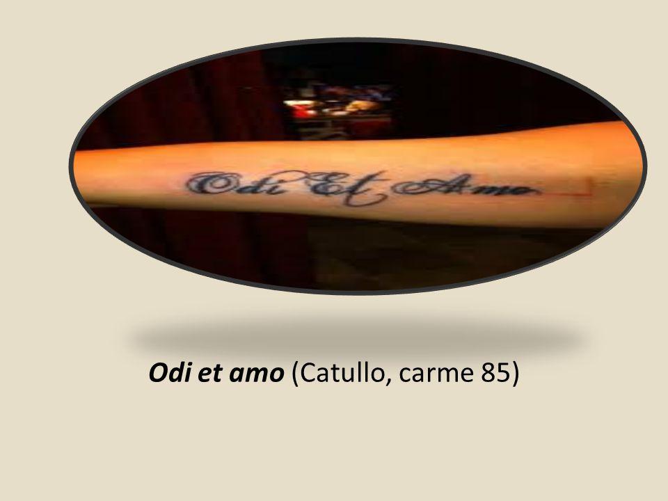 Odi et amo (Catullo, carme 85)
