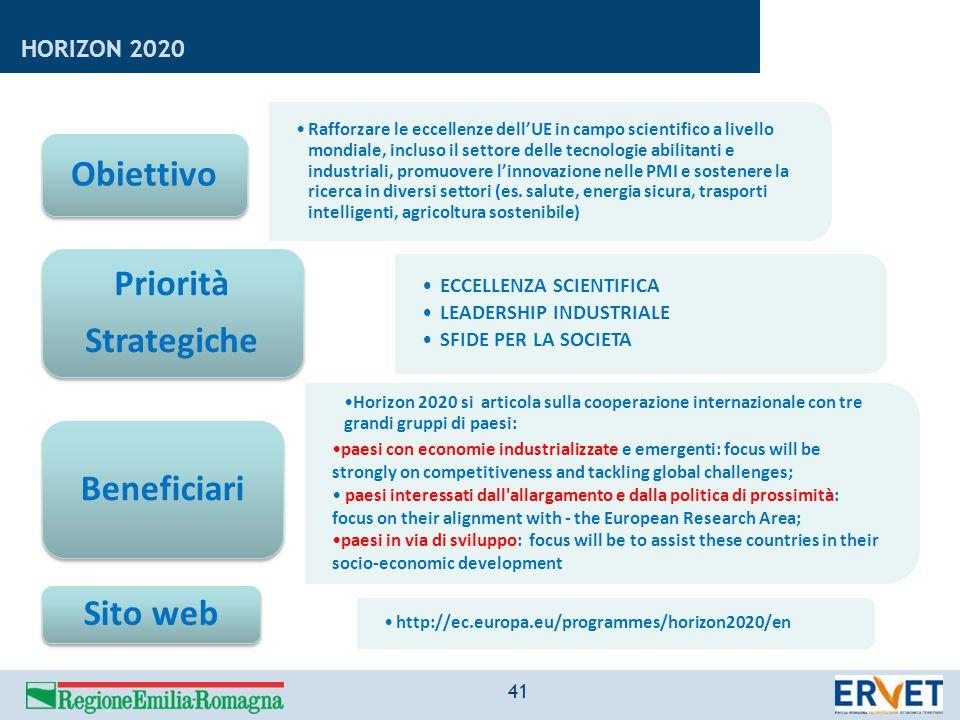 Rafforzare le eccellenze dell'UE in campo scientifico a livello mondiale, incluso il settore delle tecnologie abilitanti e industriali, promuovere l'i