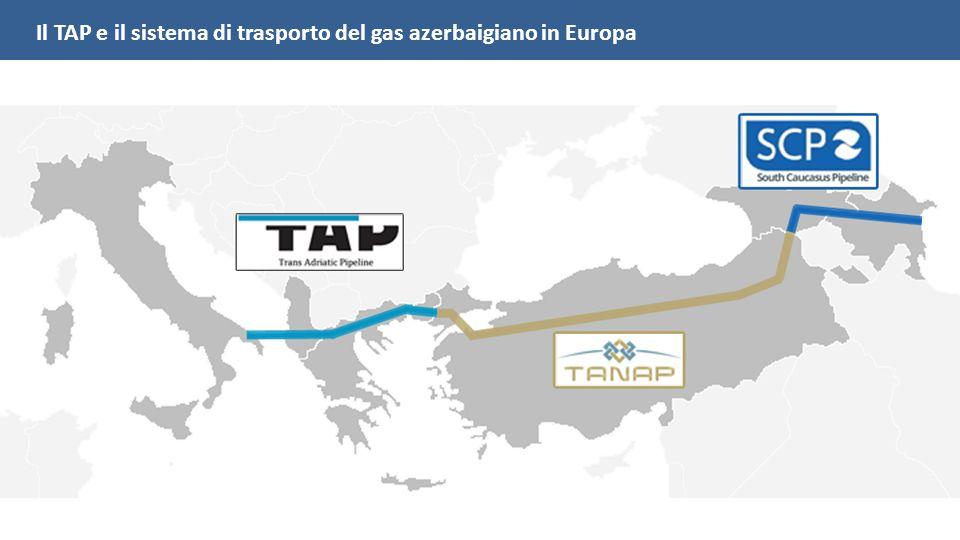 Il TAP e il sistema di trasporto del gas azerbaigiano in Europa