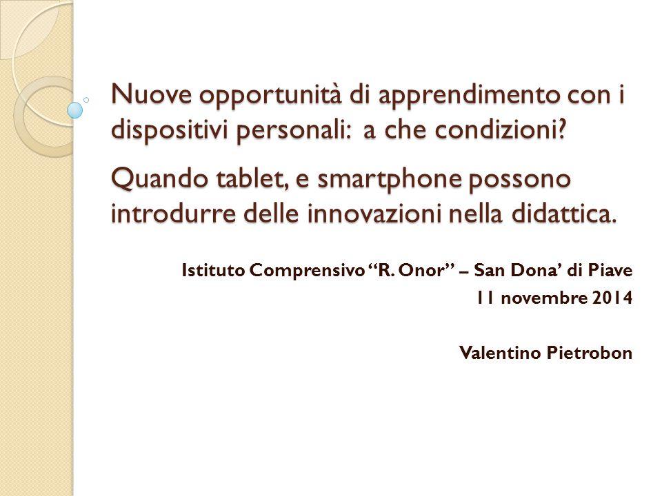 Mi presento Valentino Pietrobon ◦ Docente di Informatica  presso il Liceo G.