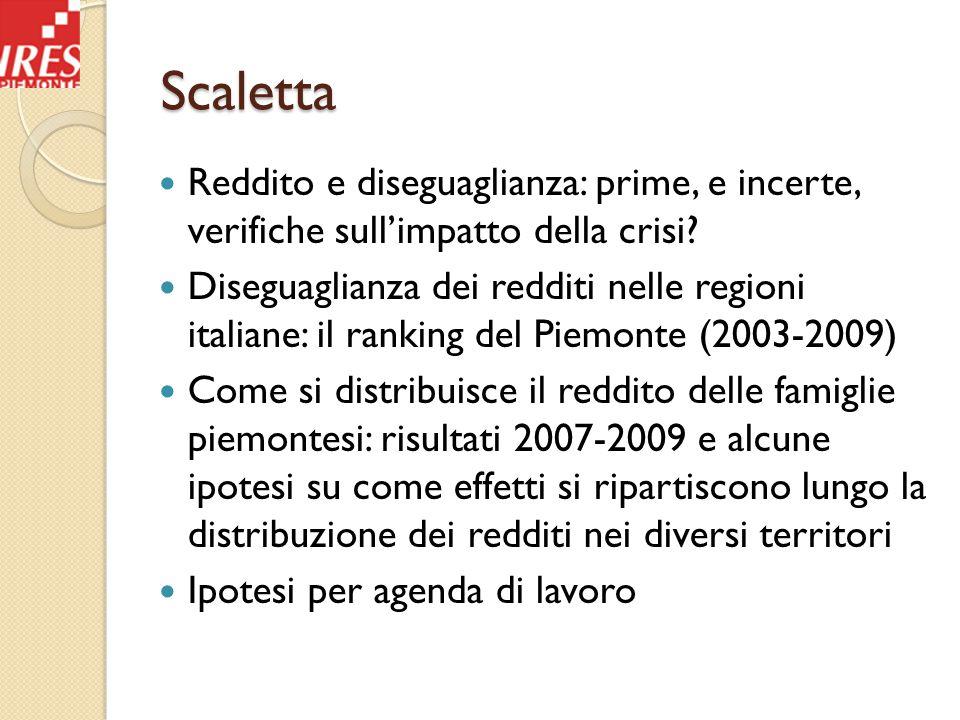 PIL reale paesi OCSE (2008:1=100) Fonte: Andrea Brandolini (Banca d'Italia) su dati OCSE