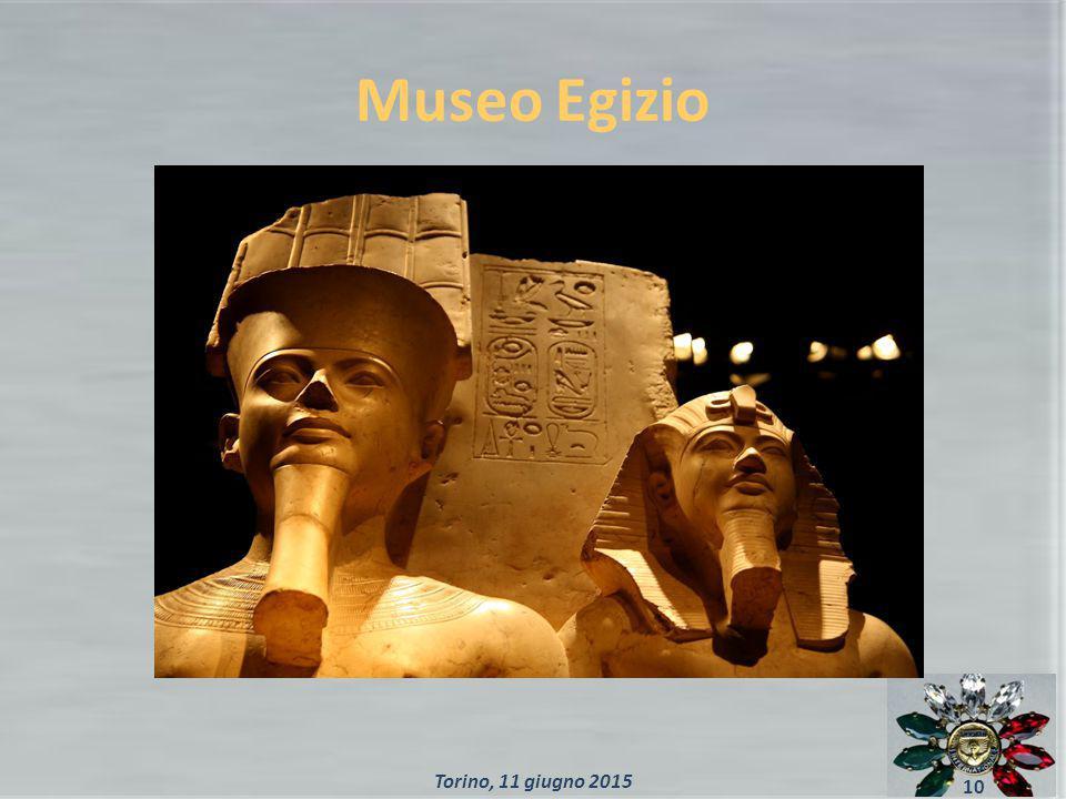 Museo Egizio 10 Torino, 11 giugno 2015