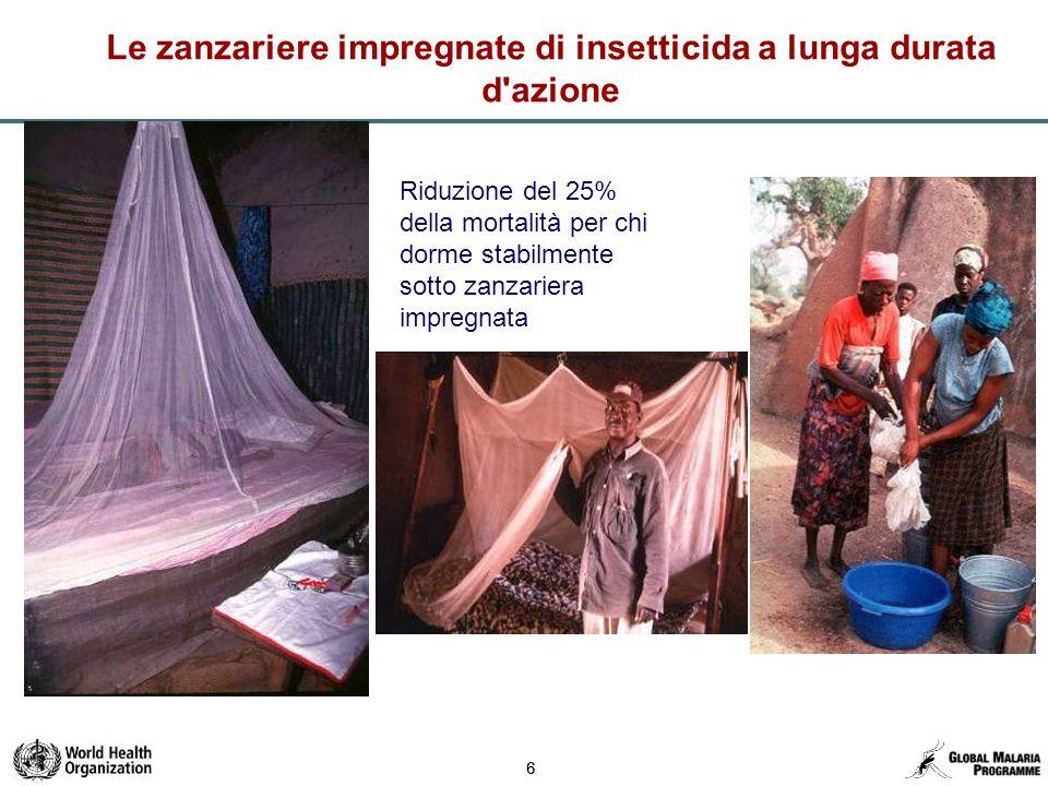 77 Prevenzione – Disponibilità di zanzariere impregnate di insetticida a lunga durata d azione Africa – 2004-2013